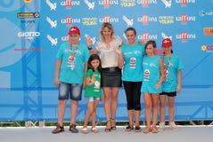 Barbora Bobulova al Giffoni Film Festival 2013 imagen de archivo