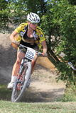 Barbora Dzerengova - MTB cross country Stock Photo