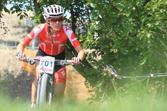 Barbora Prudkova - MTB cross country Royalty Free Stock Image