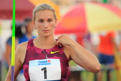 Barbora Spotakova - javelin Royalty Free Stock Photography