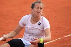 Barbora Strycova - tênis Fotografia de Stock Royalty Free