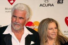 Barbra Streisand, Джеймс Brolin стоковое фото rf
