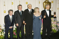 Barbra Streisand, Clint Иствуд, Дастин Hoffman Стоковая Фотография