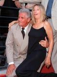 Barbra Streisand, James Brolin Royaltyfria Bilder