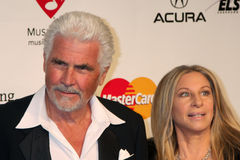 Barbra Streisand,James Brolin Stock Photos
