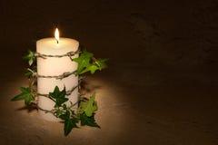 barbwire蜡烛 库存图片