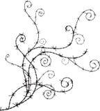 Barbwire装饰品 向量例证