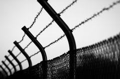 Barbwire images stock