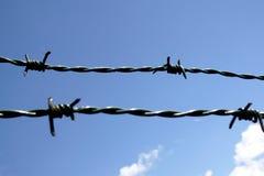 barbwire Στοκ φωτογραφίες με δικαίωμα ελεύθερης χρήσης