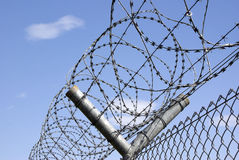 Barbwire Roll 2. High Security Protection  - Barbwire Rolls Stock Photography