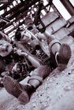 barby cyberpunk Fotografering för Bildbyråer