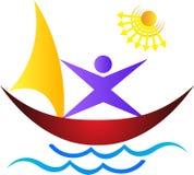 Barca illustrazione vettoriale
