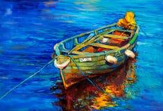 barca illustrazione di stock
