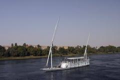 Barca 80 sul Nilo Immagine Stock Libera da Diritti