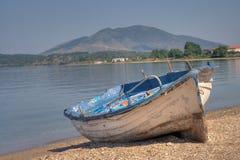 Barca abbandonata Immagini Stock Libere da Diritti