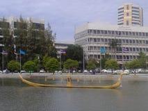 Barca in acqua immagini stock libere da diritti