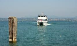 Barca ad alta velocità di trasporto Immagini Stock Libere da Diritti