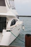 Barca ad un attracco. Fotografia Stock Libera da Diritti
