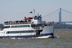 Barca ammucchiata fotografia stock