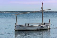 Barca ancorata Fotografia Stock Libera da Diritti