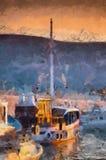 Barca Antic illustrazione vettoriale