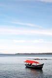 Barca arancio Fotografia Stock Libera da Diritti