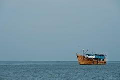 Barca arrugginita Fotografie Stock Libere da Diritti