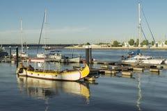 Barca av den Arade floden Fotografering för Bildbyråer