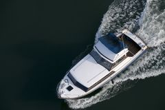 Barca bagnata Fotografie Stock