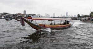 Barca a Bangkok Immagini Stock