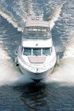 Barca bianca Fotografia Stock Libera da Diritti