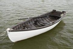 Barca bianca immagine stock