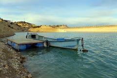 Barca blu Immagine Stock Libera da Diritti