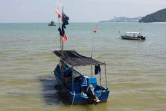 Barca blu del pesce Immagine Stock Libera da Diritti