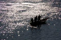 Barca brillante Immagini Stock