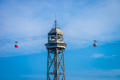 Barca cable cars Royalty Free Stock Image