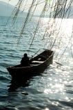 Barca in Cina Fotografia Stock