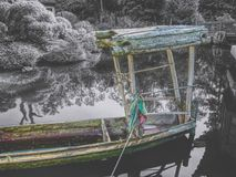 Barca cinese Fotografia Stock