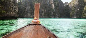 Barca a coda lunga Fotografie Stock Libere da Diritti
