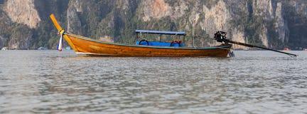 Barca a coda lunga Fotografia Stock
