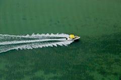 Barca d'accelerazione immagine stock