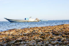 Barca in Dahab Fotografia Stock