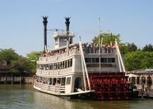 Barca de Disneylandya Foto de archivo libre de regalías