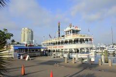 Barca de la reina de la selva Imagen de archivo