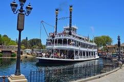 Barca de Mark Twain Imagenes de archivo