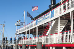 Barca de Natchez Imágenes de archivo libres de regalías