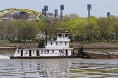 Barca de Pittsburgh Fotografia de Stock Royalty Free