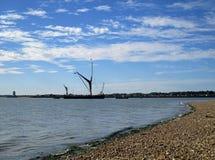 Barca de Tamisa Fotos de Stock