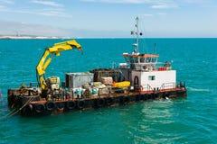 Barca de trabalho Fotos de Stock