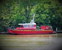Barca del corpo dei vigili del fuoco di Nashville Fotografia Stock